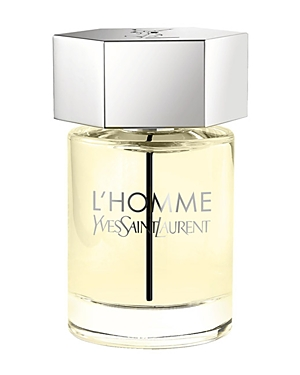 yves saint laurent male yves saint laurent lhomme eau de toilette natural spray 33 oz