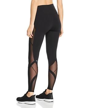 Alo Yoga - Mosaic Mesh-Inset Leggings