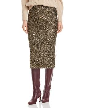 Lafayette 148 New York - Casey Sequin Midi Skirt