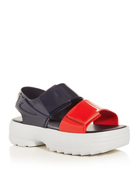 Melissa - x FILA Women's Slingback Platform Sandals