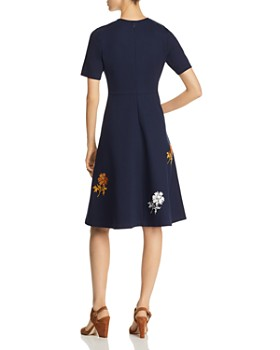 Tory Burch - Embellished Ponte Dress