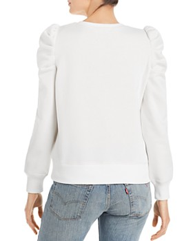 Rebecca Minkoff - Janine Pleated Shoulder Sweatshirt