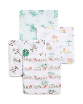 Aden and Anais - Disney Lion King Swaddle Blankets, 4 Pack - Baby