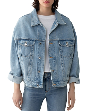 Agolde Charli Oversize Denim Jacket in Heed