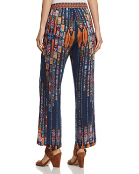 Johnny Was - Vega Printed Drawstring Pants