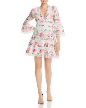 7611442f AQUA - Floral Eyelet & Lace Dress - 100% Exclusive ...