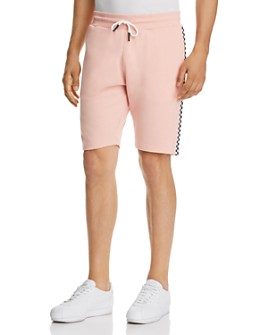 Sovereign Code - Official Checker-Trimmed Sweat Shorts
