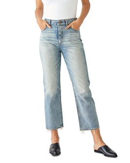 DL1961 - Jerry High-Rise Vintage Cropped Slim Jeans in Hawthorne
