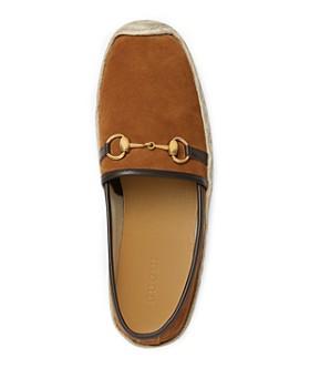Gucci - Men's Suede Horsebit Espadrilles