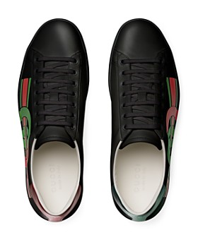 Gucci - Men's Ace Interlocking-G Lace-Up Sneakers
