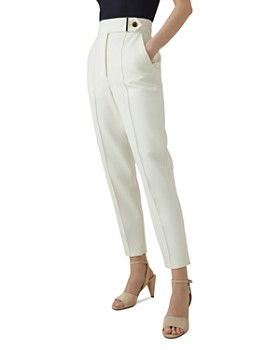 KAREN MILLEN - High-Waisted Tailored Pants