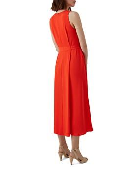 aeaf354085 ... KAREN MILLEN - Belt Detail High/Low Midi Dress