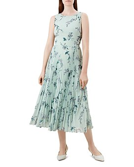 HOBBS LONDON - Celeste Pleated Floral Midi Dress