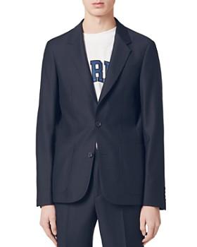 Sandro - Notch Super 110 Slim Fit Suit Jacket