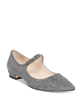 48787ae299f1e kate spade new york - Women's Mallory Metallic Mary Jane Flats ...