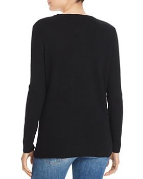 AQUA - Star Intarsia Cashmere Sweater - 100% Exclusive