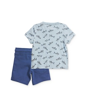 Sovereign Code - Boy's Shark Tee & Shorts Set - Baby