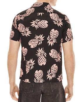 Sandro - Pineapple Print Slim Fit Shirt