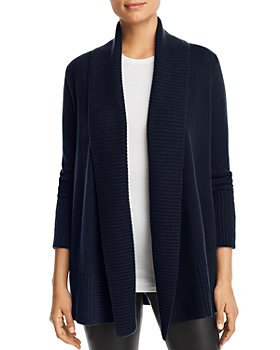 C by Bloomingdale's - Shawl-Collar Cashmere Cardigan - 100% Exclusive