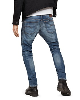 G-STAR RAW - 3301 Slim Fit Jeans in Medium Age