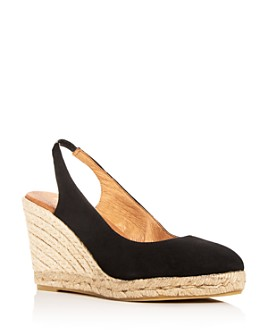 Andre Assous - Women's Raisa Slingback Espadrille Wedge Sandals