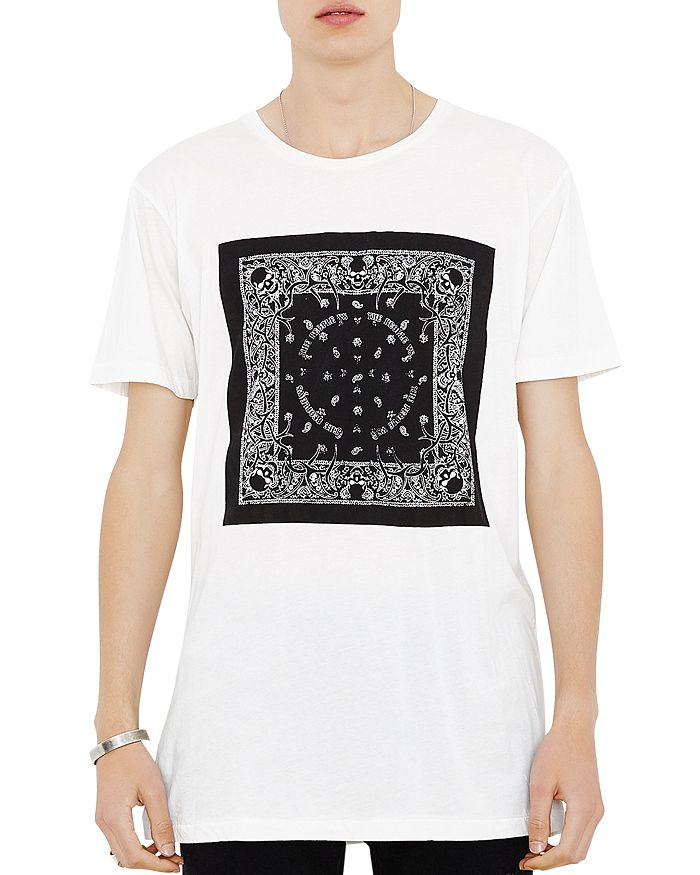 The People Vs. Bandana Alpha Graphic Tee In White