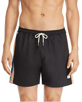 DUVIN - Disco Side-Stripe Swim Shorts