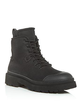 Salvatore Ferragamo - Men's Tolk Suede Hiking Boots