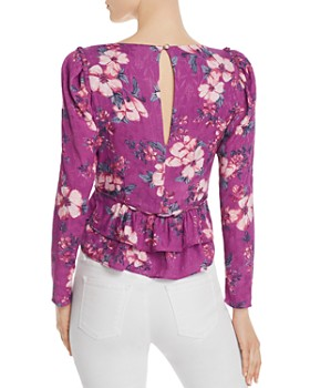 Rahi - Fiesta Layla Ruffle Cropped Floral-Print Blouse