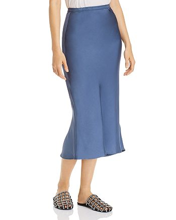 Anine Bing - Bar Silk Skirt