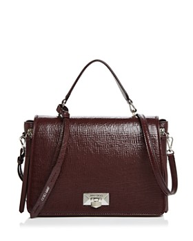 Jimmy Choo - Helia Medium Leather Shoulder Bag