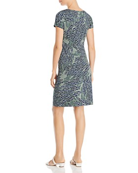NIC and ZOE - Leaf Direction Printed Knit Dress