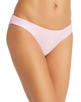 PilyQ - Basic Ruched Bikini Bottom