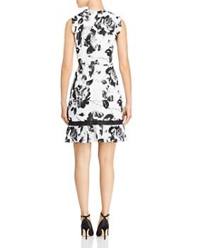 KARL LAGERFELD Paris - Crochet-Inset Floral Dress