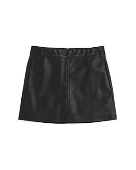 BLANKNYC - Girls' Faux-Leather Skirt - Big Kid