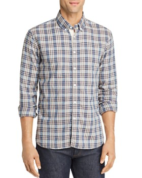 Billy Reid - Irvine Plaid Regular Fit Button-Down Shirt