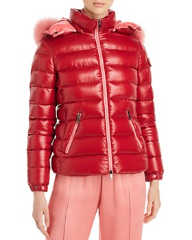 Moncler - Bady Fur-Trim Down Coat