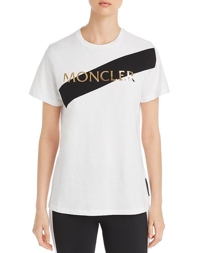 Moncler - Metallic Logo Tee