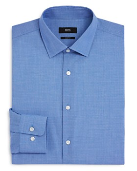 BOSS - Dobby Dot Regular Fit Dress Shirt