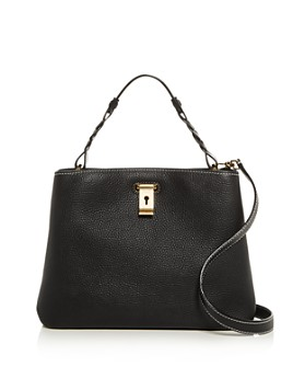 Bally - Lucyle Small Pebbled Leather Shoulder Bag
