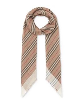 Burberry - Icon Stripe Gauze Scarf
