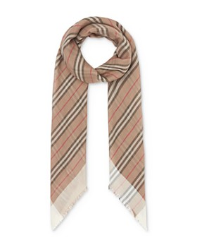 Burberry - Icon Stripe Gauze Scarf