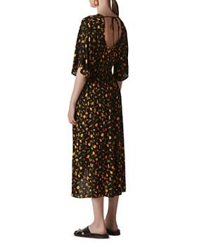 Whistles - Aster Floral Midi Dress