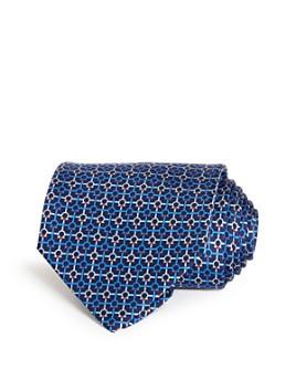 Salvatore Ferragamo - Gancini Print Silk Classic Tie