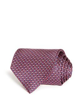 Salvatore Ferragamo -  Multi Gancini Silk Classic Tie