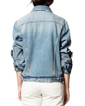 Zadig & Voltaire - Klausi Dirty Denim Jacket
