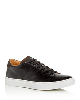 To Boot New York - Men's Colton Leather Low-Top Sneakers