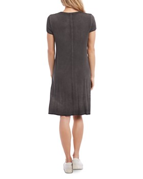 Karen Kane - Olivia Vintage Wash Jersey T-Shirt Dress