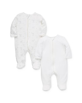 Little Me - Unisex Puppy Footies, 2 Pack - Baby