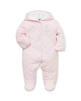 Little Me - Girls' Quilted Pram Suit - Baby